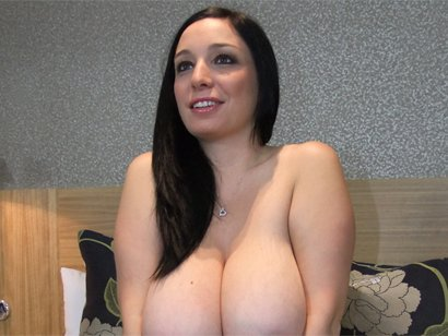 hot babe from Massive 32H Natural Boobs